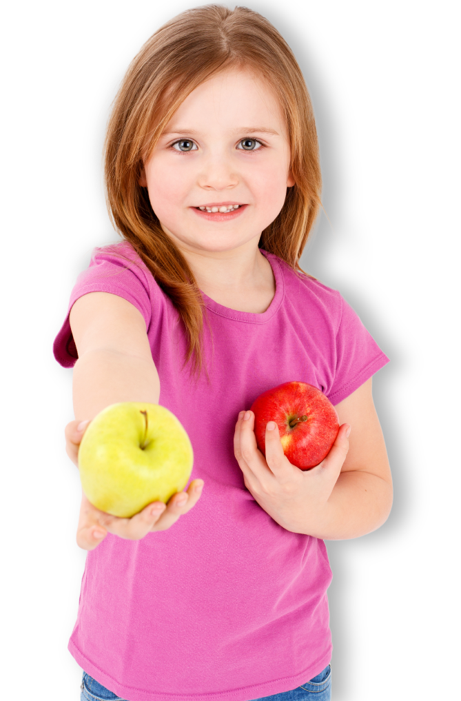 girl-with-apples